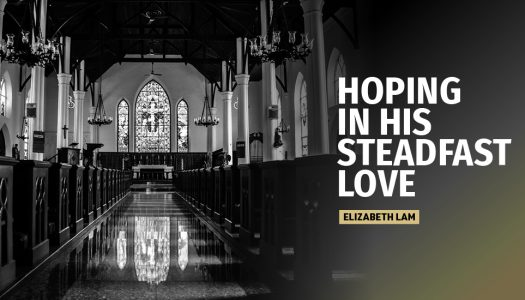 Hoping in his steadfast love
