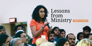 Lessons from Ministry