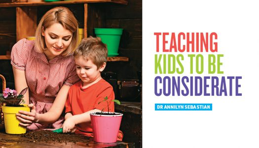 TEACHING KIDS TO BE CONSIDERATE