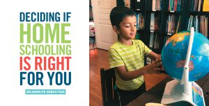 Deciding if homeschooling is right for you
