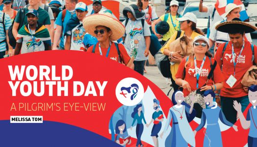 WORLD YOUTH DAY:A PILGRIM'S EYE-VIEW