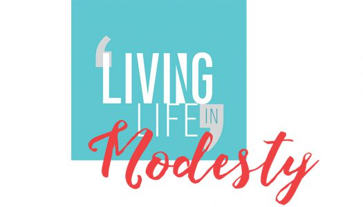 LIVING LIFE IN modesty