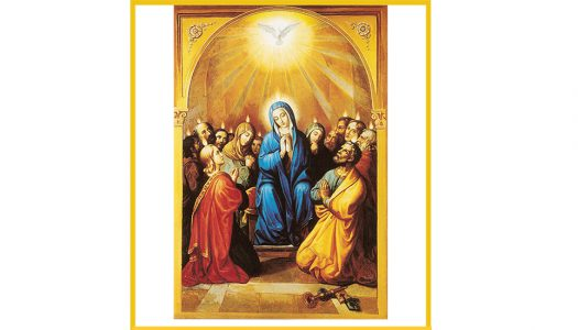 """JESUS YOUTH-As the image of """"Mary, Queen of Apostles"""""""