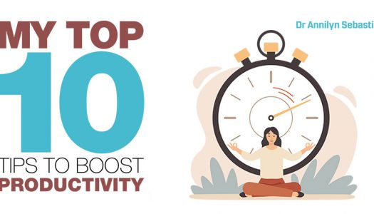 My top 10 tips to boost productivity