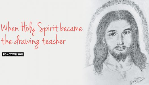 When Holy Spirit became the drawing teacher