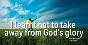 To Him Be All My Glory